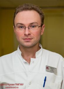 Нечаев Илья Андреевич,  врач-трансфузиолог