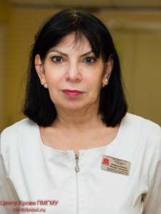 Байрамалибейли Имнара Энверовна, Заведующий отделением клинической трансфузиологии, врач-трансфузиолог